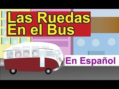 Las Ruedas en el bus, Musica para niños, Musica infantil para cantar