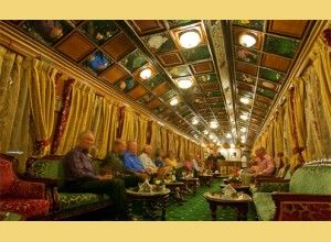 Welcome and enjoy the royal tour in the luxurious Train Tour #PalaceOnWheels. The #Tour Departs inside of the night from city for Jaipur.