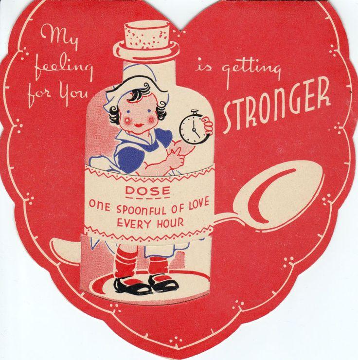 469 best Vintage Valentine's Day Card images on Pinterest | Vintage