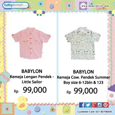 New arrival.  Koleksi baju Babylon. Bersertifikat SNI.  Hanya di babylonish Gratis ongkir seluruh Indonesia.