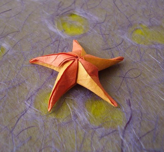 origami starfish xinblog milkhails birthday pinterest