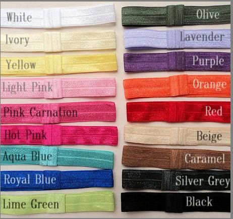 I like the aqua, silver grey, red, & the grey chevron. ONLY 1.95  CHEVRON Elastic HeadBaNdS for Girls  by HairBowHolders