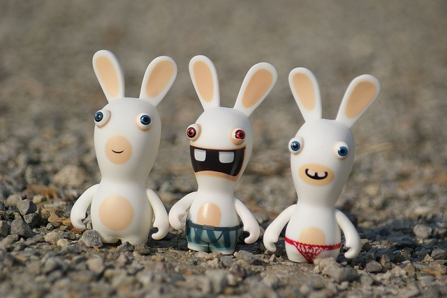 rabbids go to the park