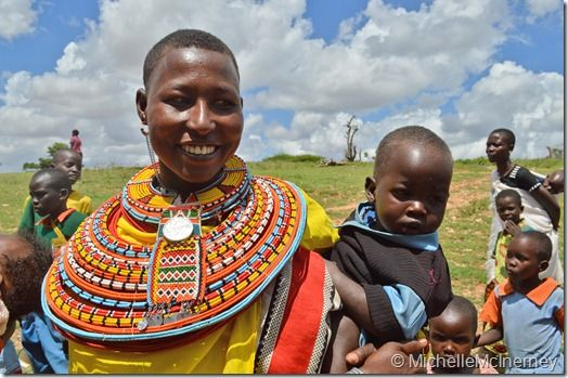 Maasai people of the Northern Rift Valley in Kenya - Exploring Geography post by Michelle McInerney of MollyMoo.ie