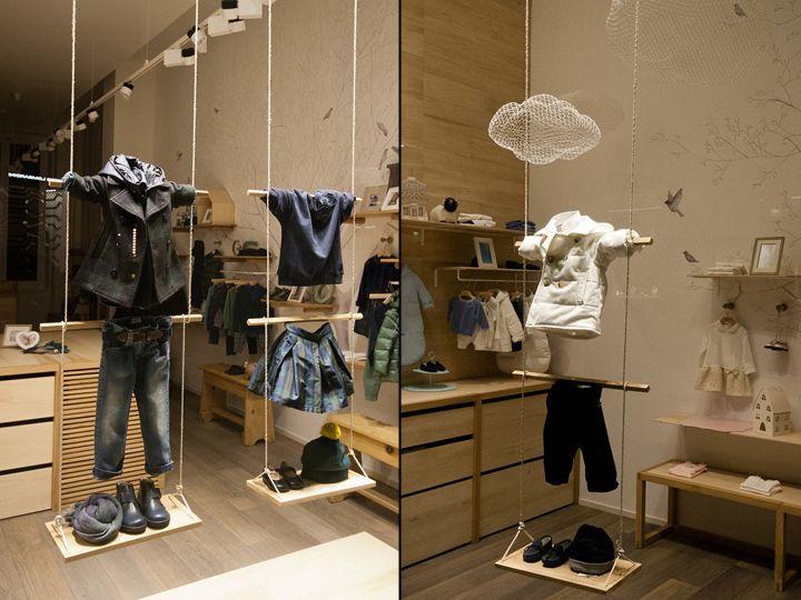 Il Gufo Fashion Week windows 2014, Milan – Italy window display
