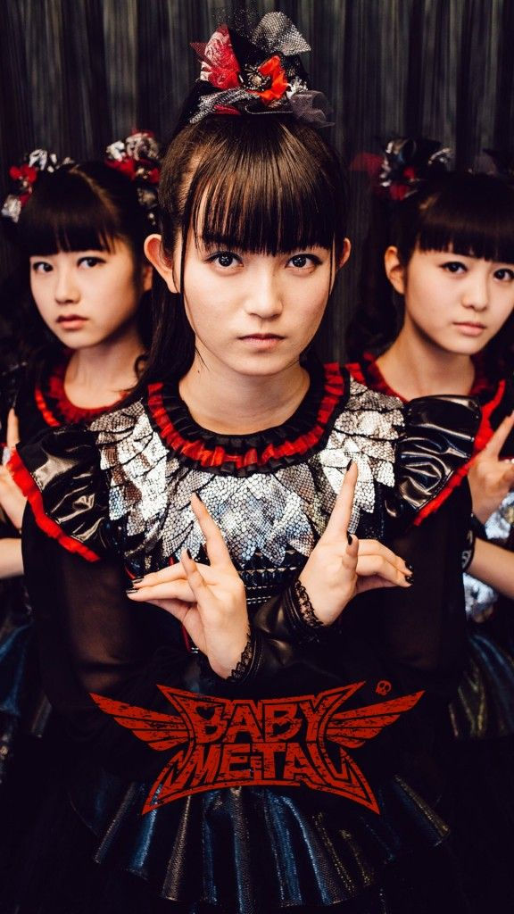 BABYMETAL/メンバー iPhone Wallpaper iPhone壁紙
