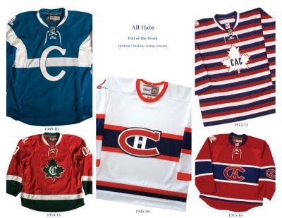 Montreal Canadiens barber pole jersey - Google Search