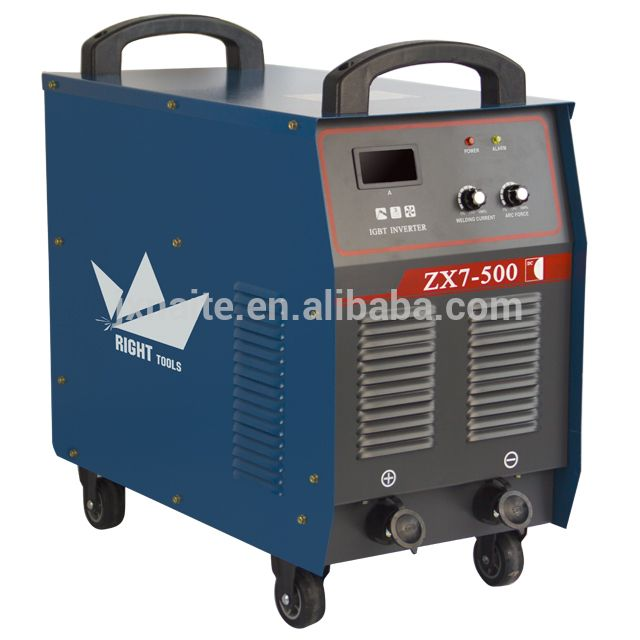 3 Phase IGBT Module DC Inverter MMA 500 amp Welding Machine