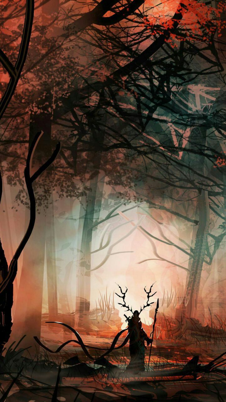 Fairy Tale Forest Fantasy Landscape Fairy Tale Forest Fantasy