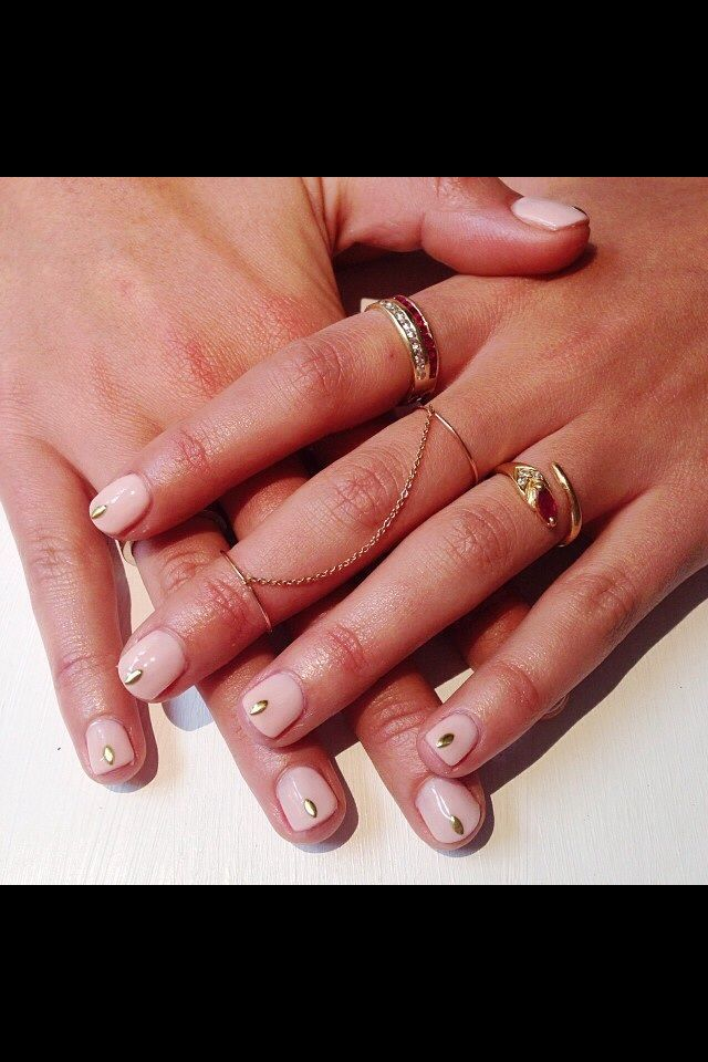 17 best Simple Nail Ideas images on Pinterest | Belle nails, Cute ...