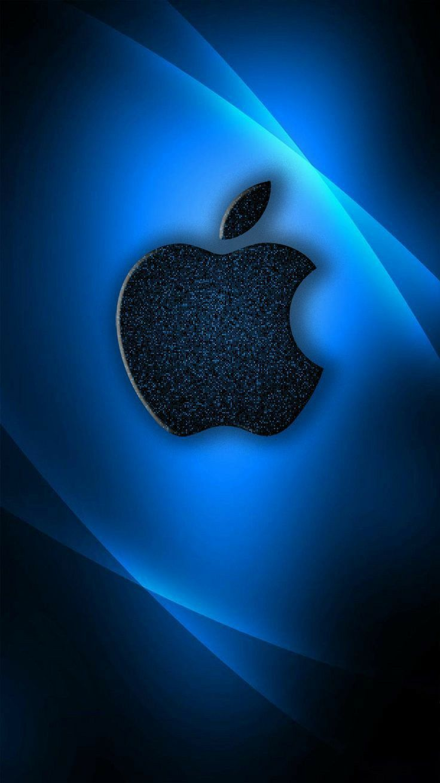 Iphone Logo 4k Blue Wallpaper Apple Wallpaper Apple Iphone Wallpaper Hd Apple Wallpaper Iphone