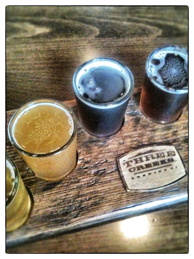 Sampling Craft Beer in Sisters Oregon 66