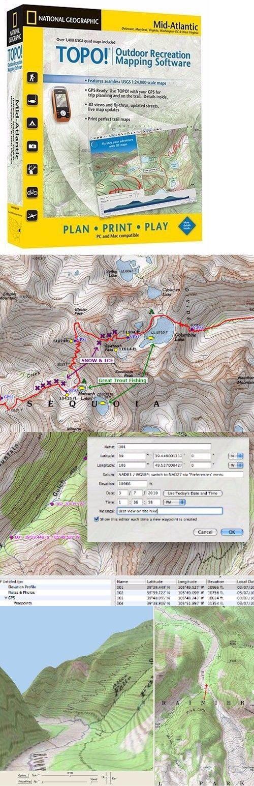 California Quake Map Usgs%0A National Geographic Usgs Topographic Maps MidAtlantic  Cd