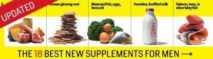 Top Supplements | Men's Health #F4F #animals #tagforlikes #vitaminB #instafollow #vitaminD