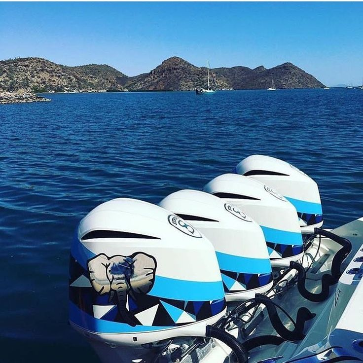 Power Boats For Sale >> Custom painted outboard motors   Outboard motors, Custom ...