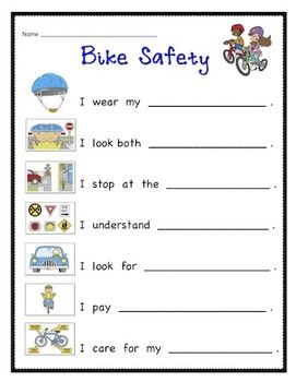 Let's Practice Bike Safety