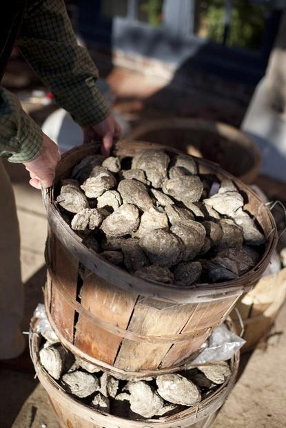 Virginia Oyster Roast | Garden and Gun--I have had the pleasure of enjoying the wonderful oyster roasts on the Cherrystone creek In Cheriton Virginia--incredibly good!!!