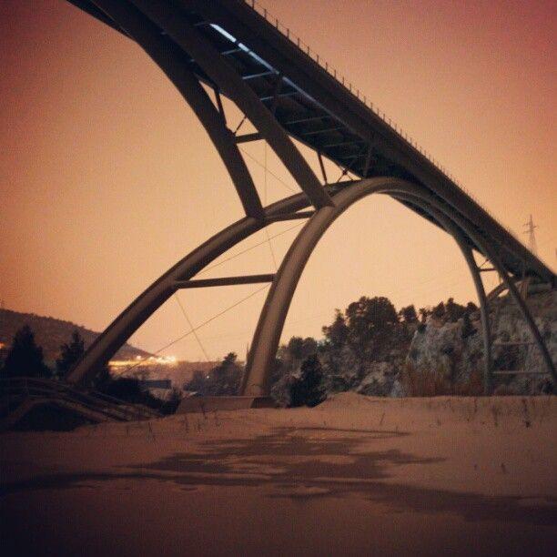 @ Davidepsy  Ponte della Valnerina | Valnerina il ponte: questo inverno nightshot Canon EOS500D