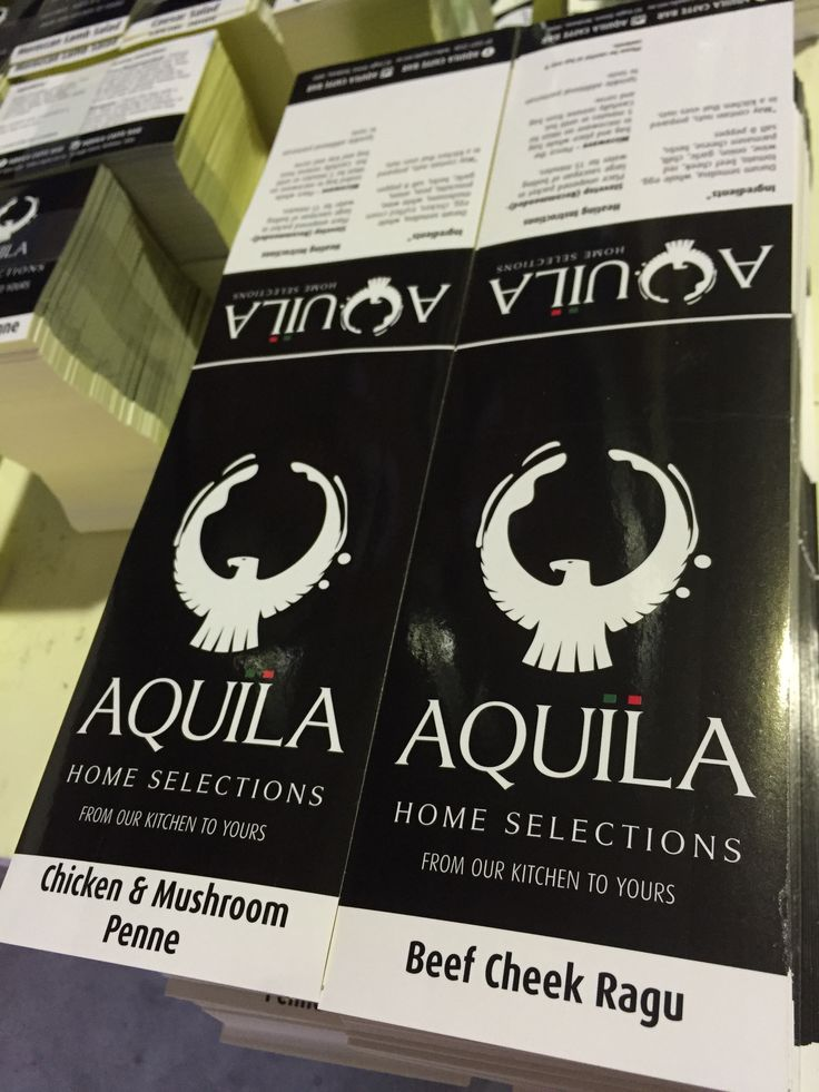 Our new client Aquilar Caffe Bar in Brisbane. Some impressive labels are going on the packaging! Awesome ones
