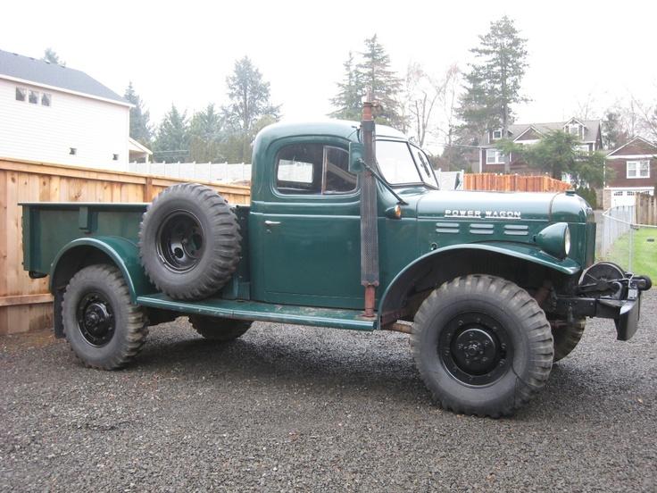 Dodge power wagon, 4x4 and Dodge on Pinterest