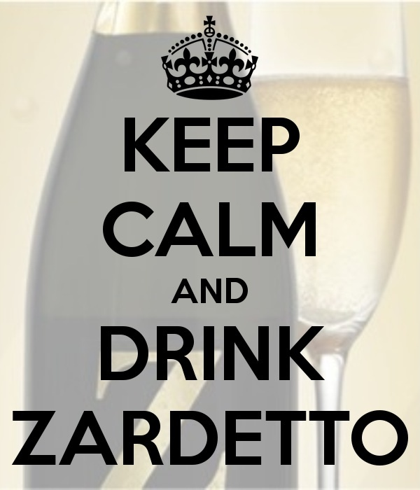 Keep Calm & Drink Zardetto. #prosecco #wine