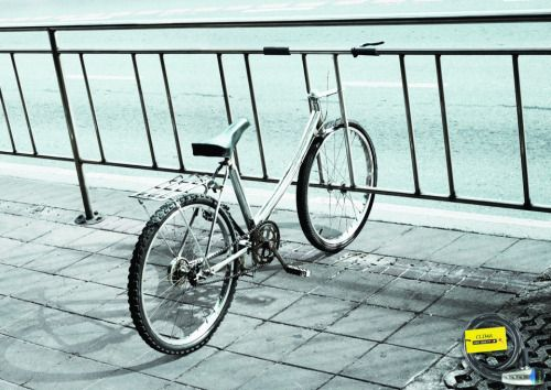 advertisingpics: Clima Bicycle Lock - Leo Burnett, Bangkok,...