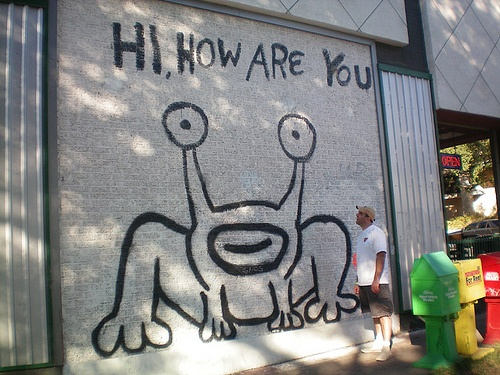 17 best images about ultimate austin pintrip on pinterest for Daniel johnston mural