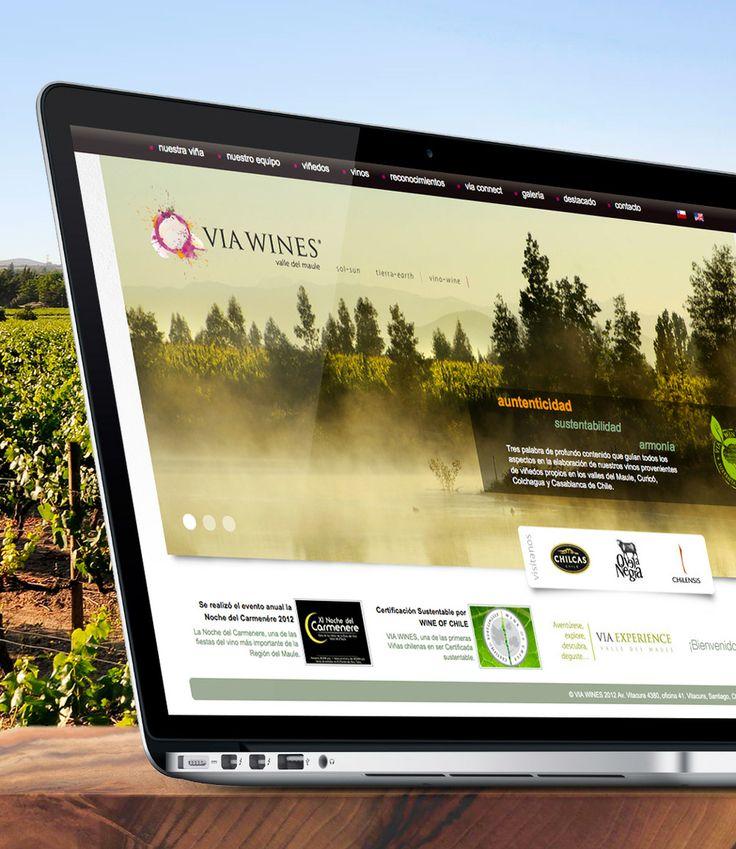 Web VIA Wines