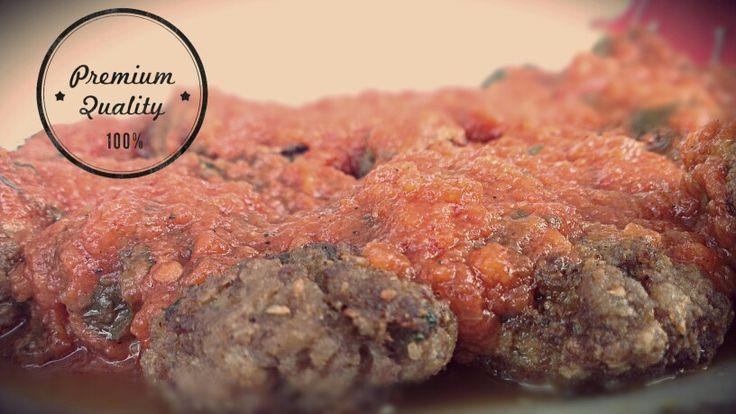 Yummi #meatballs with tomato sauce, #homemade