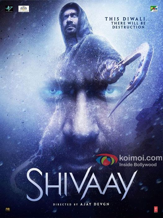 Ajay Devgn In Shivaays Latest Poster: Will There Be Destruction This Diwali?