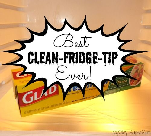 Best Clean-Fridge-Tip Ever ~ SuperMom Monday