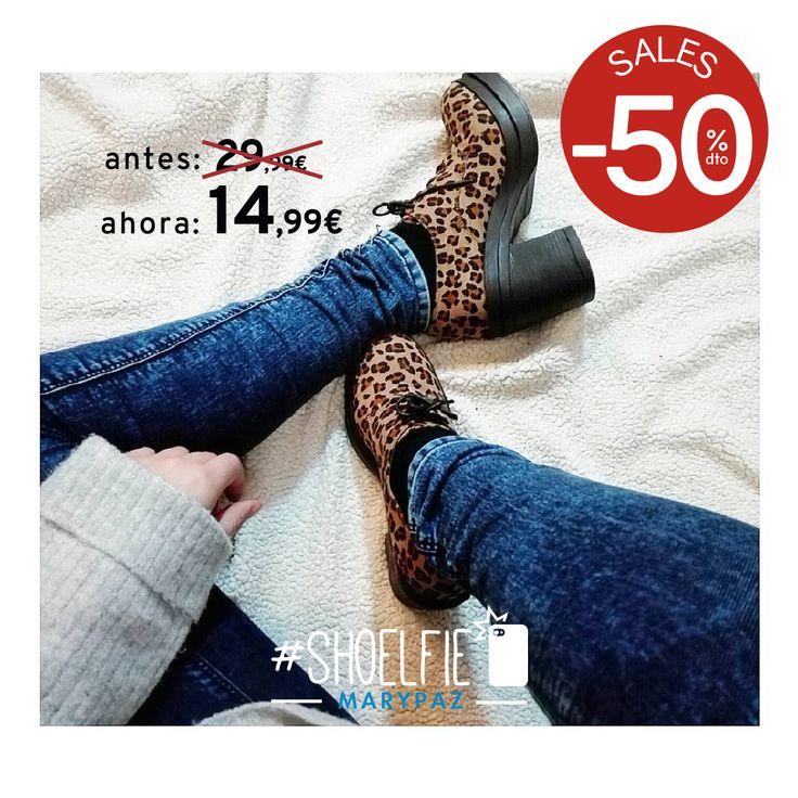 HASTA 50% DTO.¡¡REBAJAS MARYPAZ!! En tiendas físicas y online  #Shoelfie by @evitainwonderland con sus nuevos must have   Hazte con este BLUCHER ANIMAL PRINT aquí ►http://www.marypaz.com/trendy/blucher/blucher-tacon-bloque-0190116i556-74633.html  #SoyYoSoyMARYPAZ #Follow #winter #love #fashion #colour #tendencias #marypaz #locaporlamoda #BFF #igers #moda #zapatos #trendy #look #itgirl #invierno #AW16 #igersoftheday #girl  **Promoción válida desde el 07 de enero.