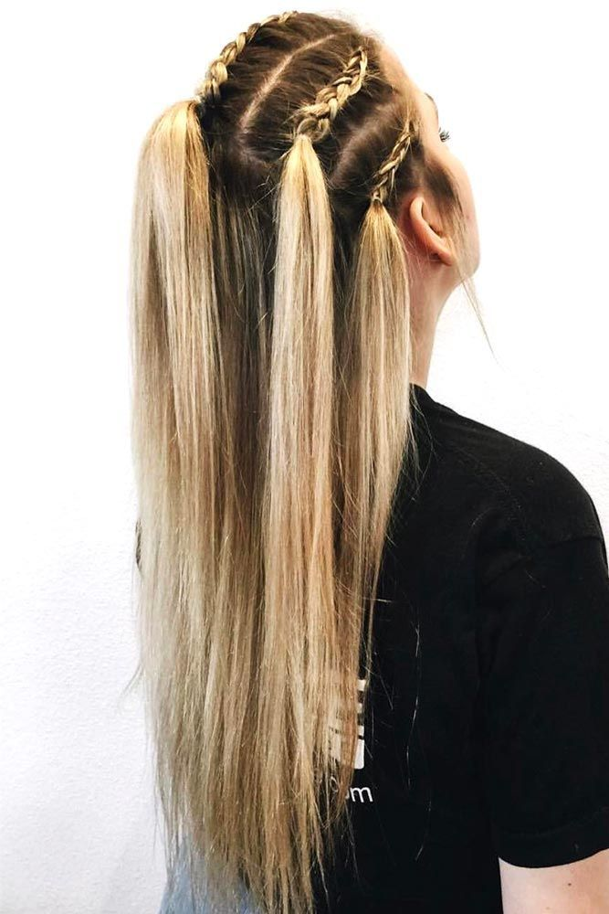 35 Miraculous Ideas For Half Ponytail Upgrade Lovehairstyles Braids For Long Hair Plaits Hairstyles Hair Styles