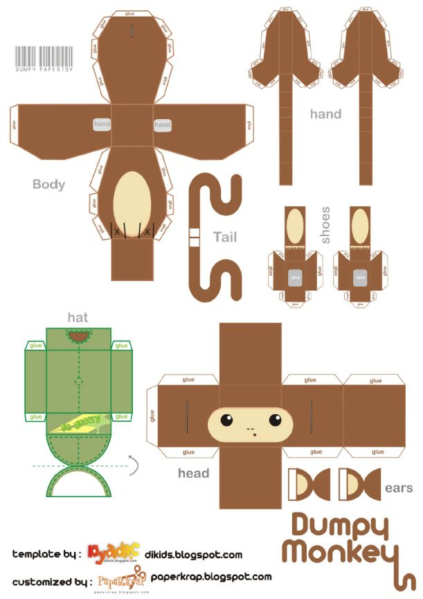 1000 ideas about Monkey Template
