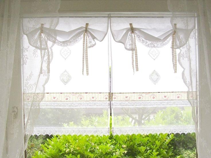 die besten 17 ideen zu gardinen landhausstil auf pinterest. Black Bedroom Furniture Sets. Home Design Ideas