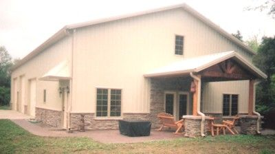 Indiana Pole Barn Builders Church For The Home