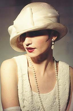 Elegante sombrero