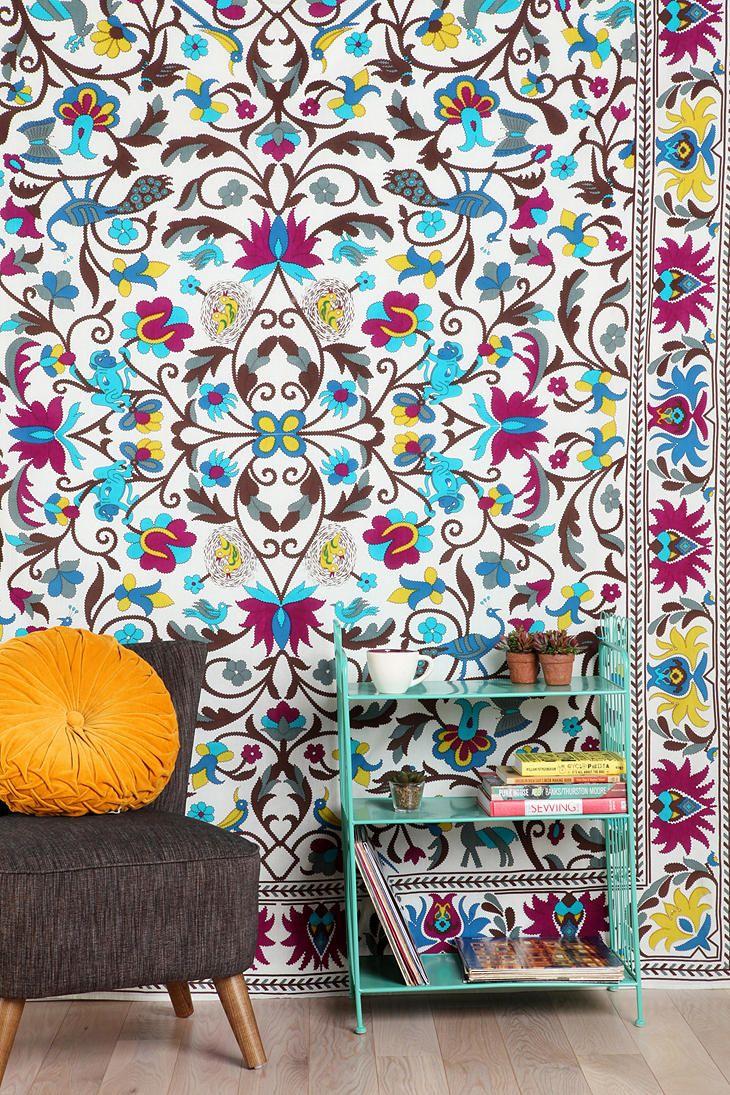 Monkey Garden Tapestry