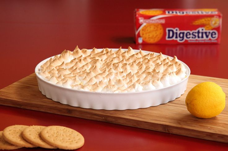 "Lemon Pie με ""Digestive"" ΠΑΠΑΔΟΠΟΥΛΟΥ"