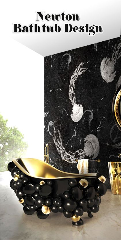 Luxury Newton Bathroom Design by Maison Valentina  