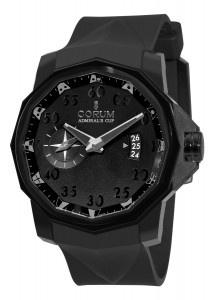 Corum Men's Black Dial WatchBlack Competition, Black Dial, Corum Swiss, Competition 48, Cups Black, 48 Black, Admire Cups, Dial Watches, Corum Men