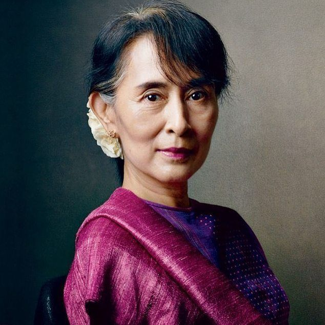 Aung San Suu Kyi, 1945 - Present  In 1989 Aung San Suu Kyi was placed under house arrest by the military, who refused to hand over power to the National League for Democracy after their landslide election victory the following year. She spent the next 21 years as a political prisoner, 15 years of which she spent under house arrest without charge or trial. Offered freedom in exchange for her exile from Burma, Aung San Suu Kyi refused. Separated from her children, who lived in the UK, she…