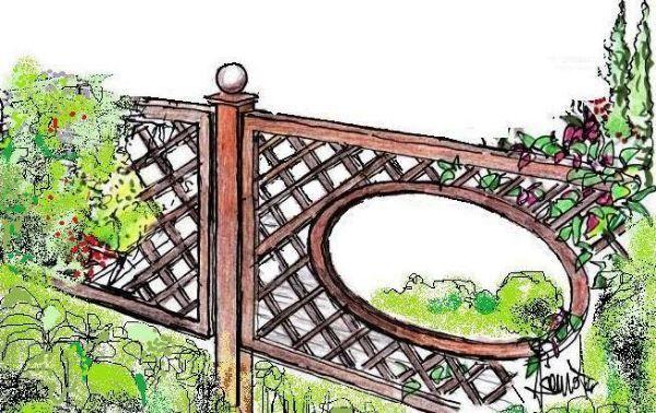 17 migliori idee su recinzione da giardino su pinterest for Staccionata in inglese