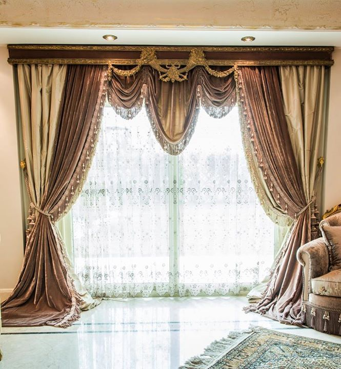 Custom Kitchen Curtains Ideas: Best 2799 Elaborate Window Treatments -n- Headboards