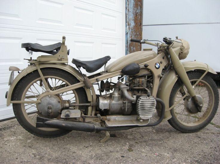 Modern Military Vehicles | World War 2 Military Vehicle Rentals, Ltd. - BMW R12 Motorcycle (1942)