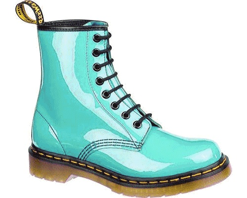Turquoise Doc Martens