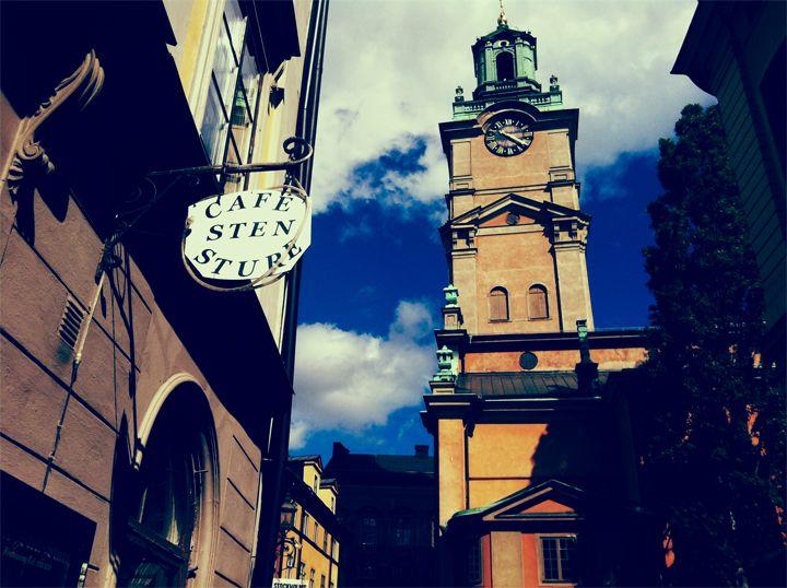 Café Sten Sture och Tyska Kyrkan