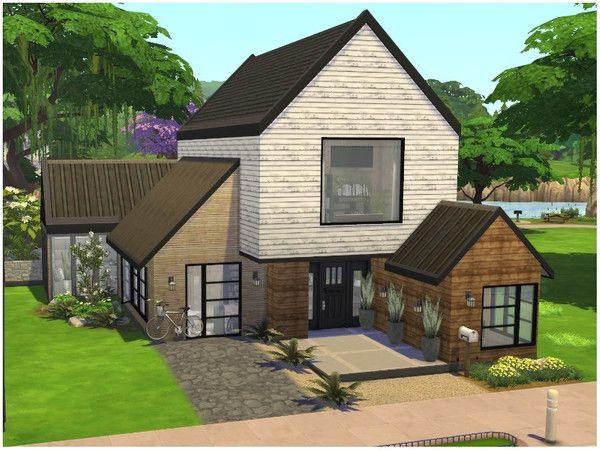 Lotsbymanal S Cozy House Sims House Sims House Design Sims 4 House Plans