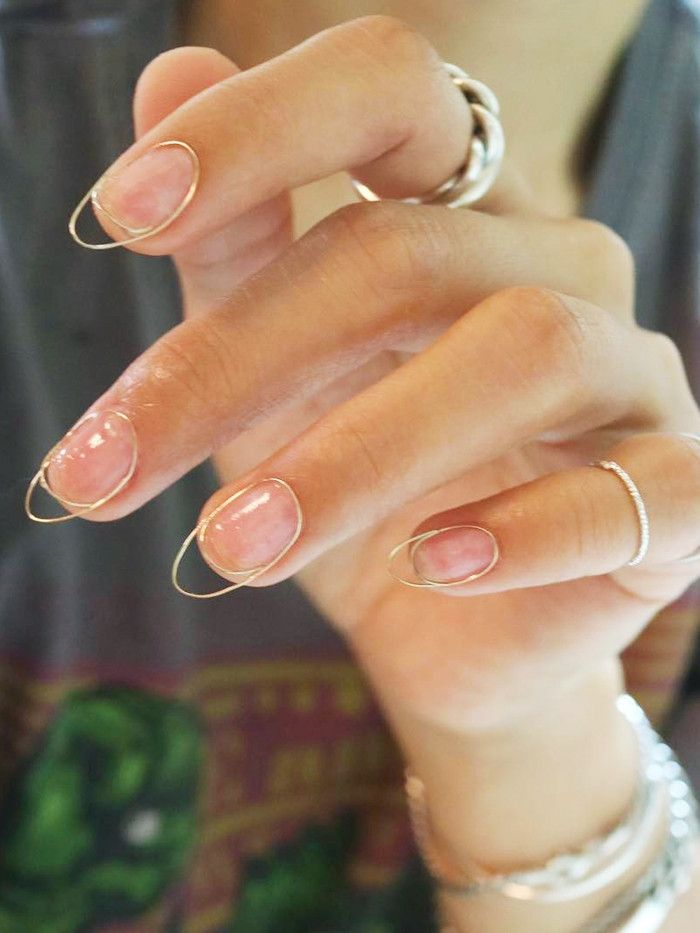 The Cool New Korean Nail Trend That Will Never Chip