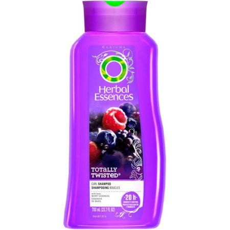 Herbal Essences Totally Twisted Curls & Waves Hair Shampoo 23.7 Fl Oz, Multicolor